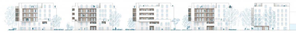 Florasdorf – Häuser 1 bis 5