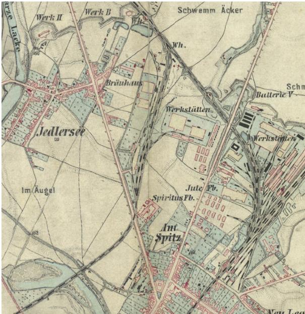 Florasdorf – Historische Karte