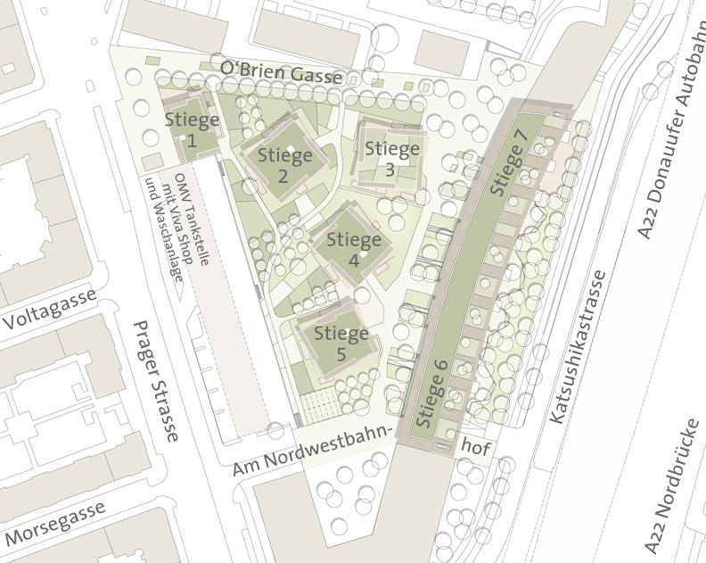 Florasdorf – Plan