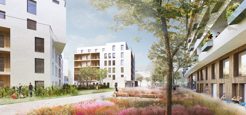 Florasdorf – 6 Gebäude am Anger