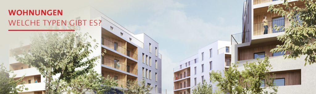 Florasdorf – Wohnungen, welche Typen gibt es?