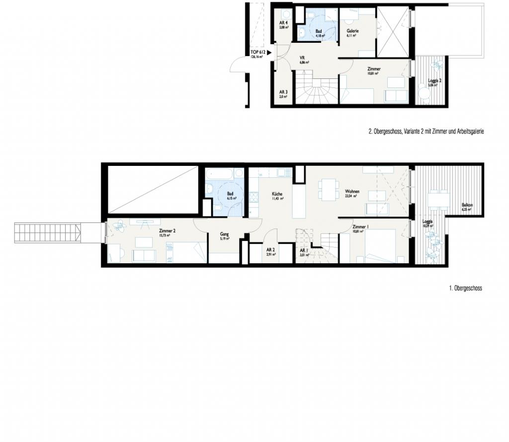 Grundriss 3-Generationenhaus V2