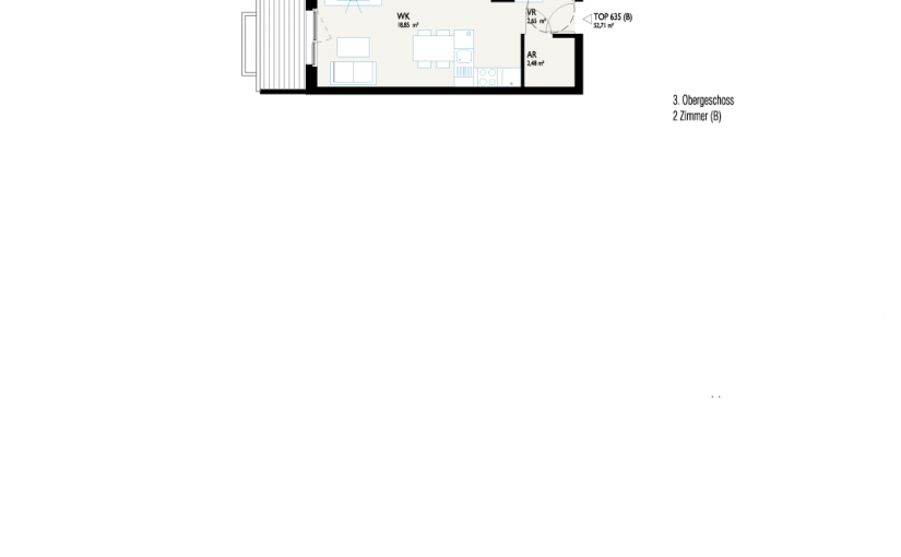Grundriss West-Apartment B1