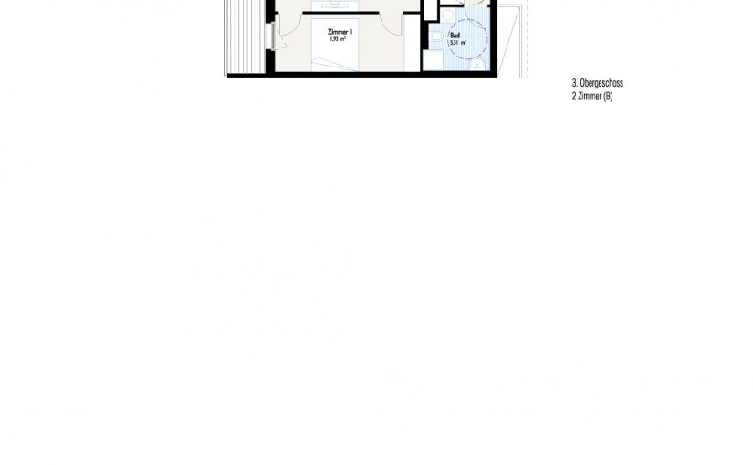 Grundriss West-Apartment B2